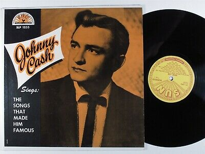 £6.18 • Buy JOHNNY CASH Sings The Songs That Made Him Famous SUN 1235 LP Mono *