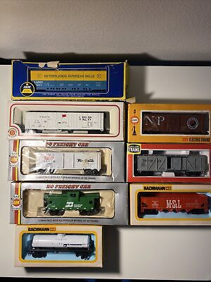 $ CDN49.07 • Buy HO Train Cars VINTAGE LOT OF 8 HO SCALE PLASTIC MODEL TRAIN Cars:Used With Boxes