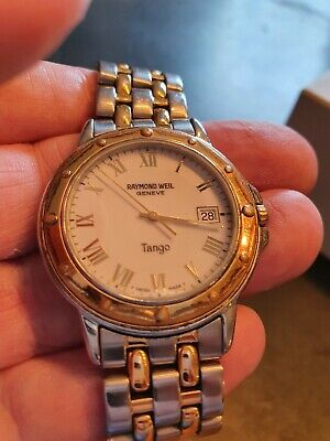 £195 • Buy Gents Raymond Weil Tango Watch In Superb Condition In Original Box And  Papers.