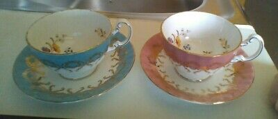 £1.70 • Buy Stunning Aynsley Fine Bone China Made In England Cup N Saucer X 2