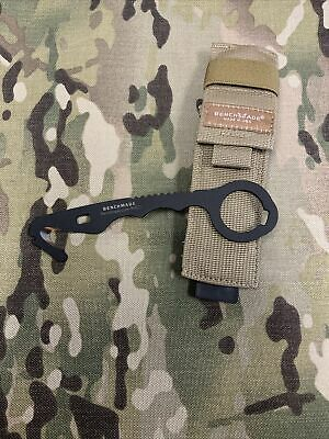 $23 • Buy US Military Issue Benchmade Model 8 Med Rescue Hook Emergency Strap Cutter Tool