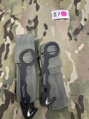 $18 • Buy US Military Issue Benchmade Model 8 Med Rescue Hook Emergency Strap Cutter Tool