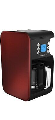 £15 • Buy Morphy Richards Accents 162009 Pour Over Filter Coffee Machine - 900W, Red