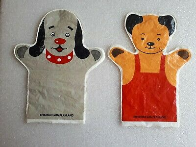 £9.99 • Buy Sooty & Sweep Hand Puppets Were Free Gift In 1968 First Issue Of Playland Comic