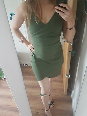 £9.50 • Buy Green Mini Dress Small NEW With Tags