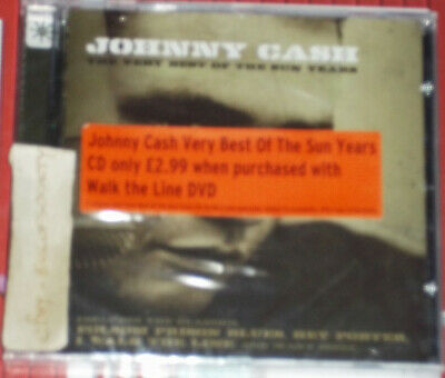 £0.99 • Buy Johnny Cash, The Very Best Of The Sun Years, Country, Cd Album, 2001, New