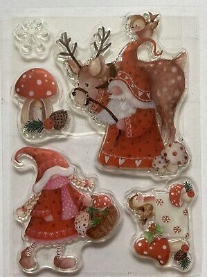 £2.50 • Buy Christmas Clear Stamps