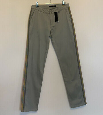£7.99 • Buy Trend By Captain Tortue Chino Trousers With Side Stripe Size 36 - BNWT