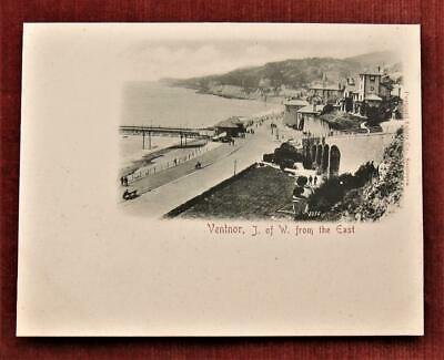 £9 • Buy Isle Of Wight - Superb Very Early Ventnor Vignette Card