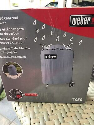 $ CDN11.58 • Buy New Weber Standard Charcoal Grill Cover 18.5 Inch Grill 7450 - New Unopened