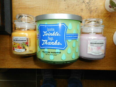 £12 • Buy Yankee Candle Tumbler Meadow Showers Sugared Blossom And Exotic Fruits  Jars