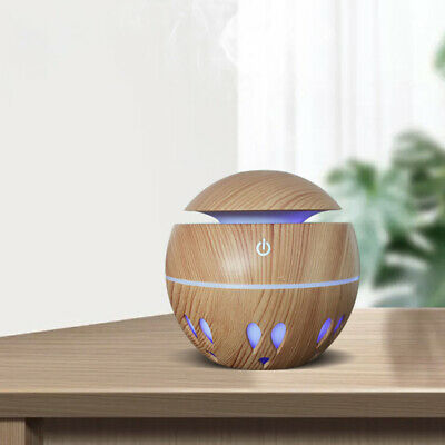AU19.34 • Buy Aroma Aromatherapy Diffuser USB LED Essential Oil Ultrasonic Air Humidifier