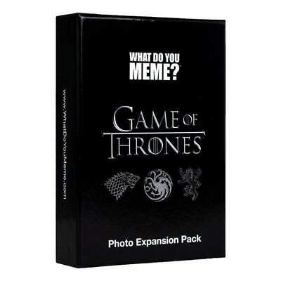 AU26.20 • Buy What Do You Meme Game Of Thrones Photo Expansion Pack