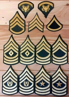 £60 • Buy US Army Insignia Of Rank  X 13 Patches