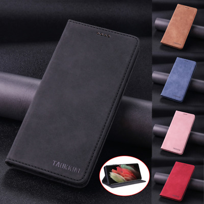 $ CDN8.64 • Buy Retro Magnetic Leather Case Cover For Samsung Galaxy S21 Ultra S20 S10E S9 S8