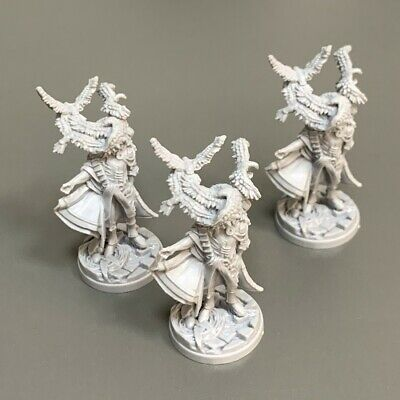 AU6.54 • Buy Lot 3 Heroes Monster Miniatures For Dungeons & Dragon D&D Figures Board Games #d