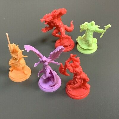 AU6.54 • Buy Lot 5 ARENA THE CONTEST Miniatures For Dungeons & Dragon D&D Figures Games #5