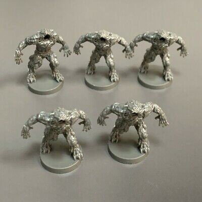 AU6.54 • Buy Lot 5 No Head Heroes Miniatures For Dungeons & Dragon D&D Figures Board Game