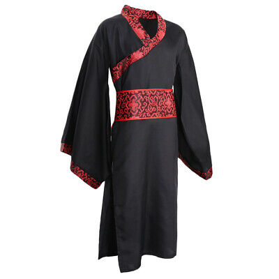 £17.12 • Buy Traditional Chinese Hanfu Han Dynasty Outfits Uniform Robe Gown For Men