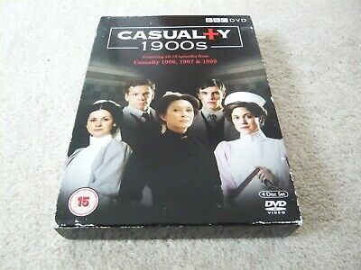 £2.20 • Buy CASUALTY 1900s , ALL 10 EPISODES FROM 1906 , 07 & 09 , 4 DVD BOX SET. BBC , 2009