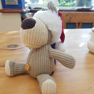 £9 • Buy Adorable Boofle Christmas Hat Teddy In Lovely Condition. Free Postage