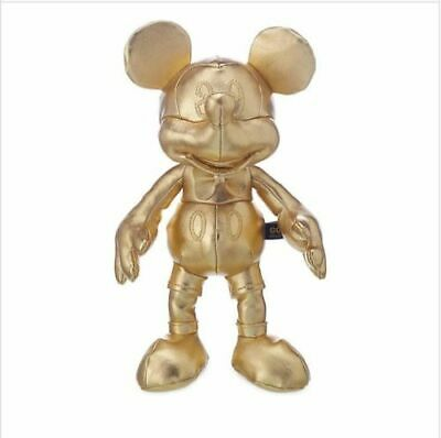 £24.95 • Buy Mickey Mouse Disney Gold Collection MINI BEAN BAG Soft Toy Memories Plush NEW UK