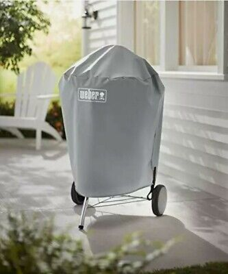 $ CDN33.86 • Buy Weber 22 Inch Charcoal Kettle Grill Cover Heavy Duty Polyester Water Resistant