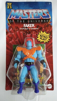$28.99 • Buy New Faker Masters Of The Universe Origins Wave 5 In-Hand MOTU Unpunched
