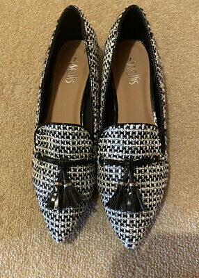 £5 • Buy Wallis Houndstooth Shoes Size 7