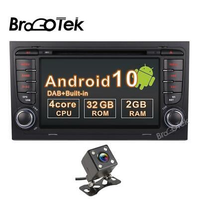 £238.20 • Buy Android 10.0 Car Stereo Audi A4 S4 RS4 RNS-E Seat Exeo DAB+ Sat Nav DVD OBD TPMS