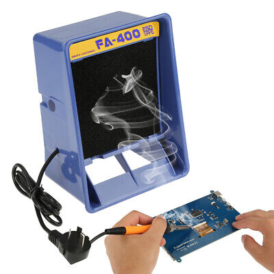 £28 • Buy Air Filter Fan Solder Smoke Absorber Remover Fume Extractor For Soldering SALE