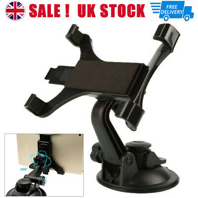 £8.02 • Buy Universal Car Windshield Suction Cup Mount Holder For IPad 7 To 11 Inch Tablet