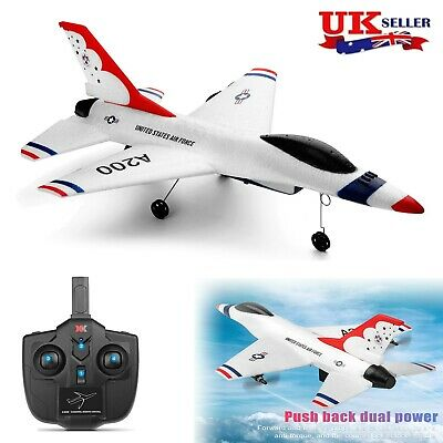 £37.99 • Buy WLtoys A200 2CH 2.4G Radio RC Airplane Aircraft RTF Glider Jet Fighter Models UK