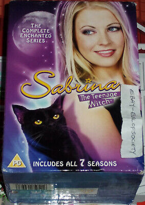 £20 • Buy Sabrina The Teenage Witch, Complete Series, Tv Show, 24 Dvd's, Boxset, Used