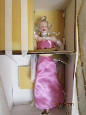 £79 • Buy Marilyn Monroe   Diamonds  Hand Painted Porcelain Doll By The Franklin Mint.