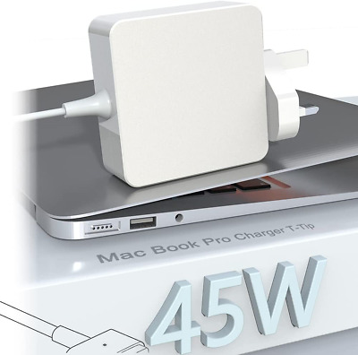 $47.36 • Buy Compatible With Mac Book Air Charger Adapter 45W Magnetic 2T-Tip Connector Power