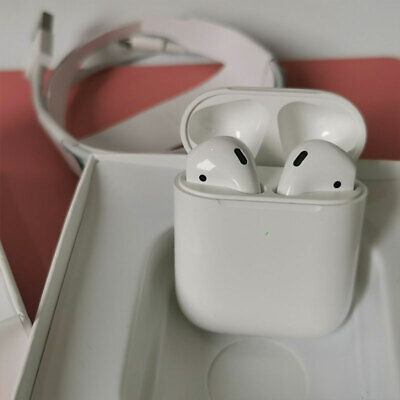 AU41.99 • Buy Apple AirPods (Second Generation) Wireless With A White Charging Box Headset AU
