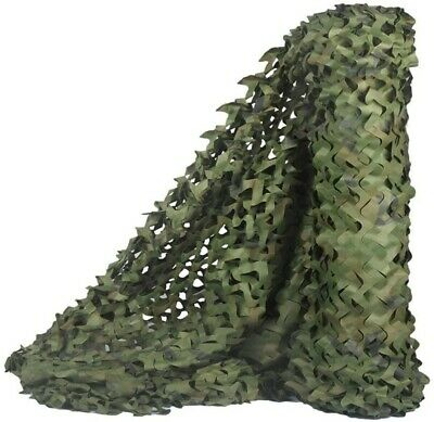 £12.98 • Buy Camouflage Netting Camo Net Hunting Shooting Camping Army Green Hide Cover UK