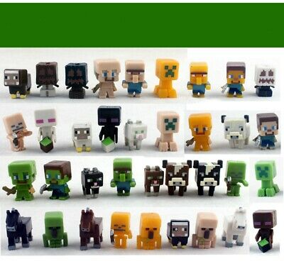 AU29.44 • Buy 36PCS  Minecraft Collection Mini Figure Play Set For Cake Decoration Bday Gift