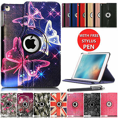 £3.99 • Buy Leather 360 Rotating Smart Case Cover For Apple IPad Air 1st Gen - IPad Pro 12.9
