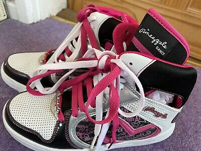 £9.50 • Buy Unused PINEAPPLE DANCE Ladies  JUMPIN' Boots  Lace Up White/pink Size 7