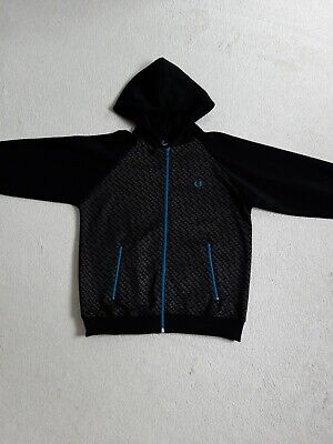 £17.99 • Buy YOUTHS FRED PERRY Track Top Hoodie - Large Youth -  - Great Condition - Boy's