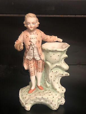 £4.49 • Buy Rare French Bisque Porcelain Golden Detailed Figure Circa 1800-1900 Period