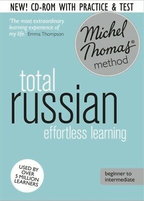 £29.99 • Buy The Michel Thomas Method Ser.: Total Russian Foundation Course: Learn Russian