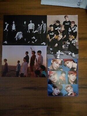 $10 • Buy BTS Original Kpop Mini Poster Set Of 4 + Love Yourself Answer Stickers!