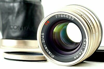 $ CDN558.87 • Buy 【 Mint In Case 】Contax Carl Zeiss Planar T* 45mm F/2 For G1 G2 From Japan #274