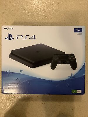 AU16 • Buy Slim PS4 Empty Console *BOX ONLY* All Inserts Included!
