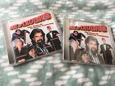 £2.99 • Buy Funny CD Audio Billy Connolly Tony Hancock Tommy Cooper Box Of Laughs Christmas