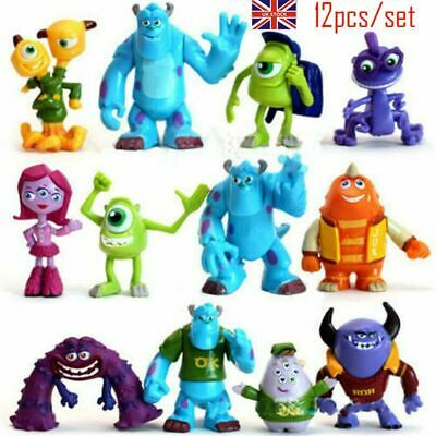 £11.49 • Buy 12X Monsters Inc University Sully Mike Animal Action Figure Cake Topper Gift Toy
