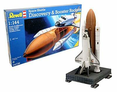 £36.99 • Buy Space Shuttle Discovery & Booster Rocket 1:144 Scale Model